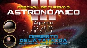 Festival de Turismo Astronómico en el Desierto de La Tatacoa 2018