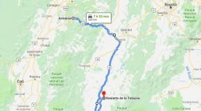 ¿Cómo llegar al Desierto de La Tatacoa desde Armenia?