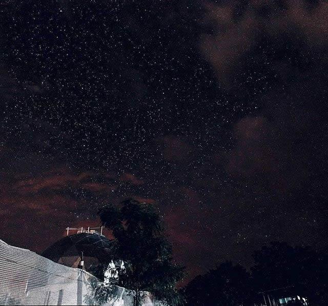 Lluvia de estrellas Desierto de la Tatacoa