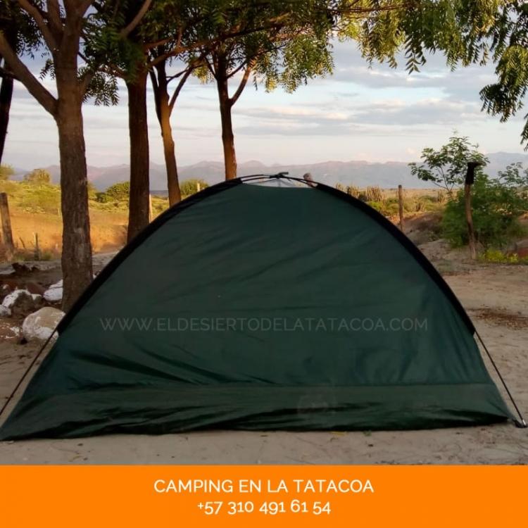 Camping en el desierto de la tatacoa