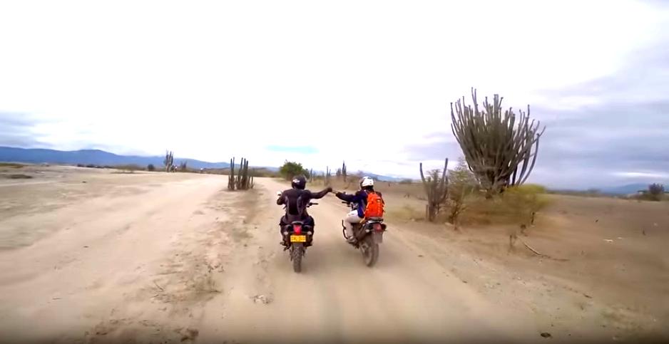 Cómo llegar al Desierto de La Tatacoa en moto