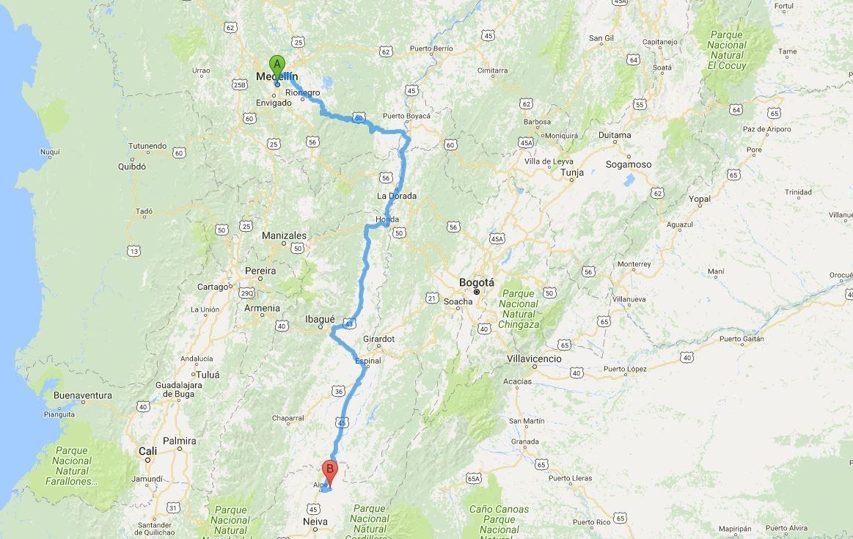 ¿Cómo llegar al Desierto de la Tatacoa desde Medellín?