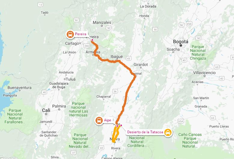 ¿Cómo llegar al Desierto de la Tatacoa desde Pereira?